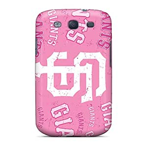 AshleySimms Samsung Galaxy S3 Scratch Protection Phone Covers Allow Personal Design Attractive San Francisco Giants Pattern [FMw3540jTUG]