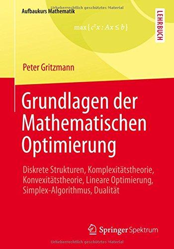 Vieweg Studium, Nr.90, Optimierung (Aufbaukurs Mathematik)