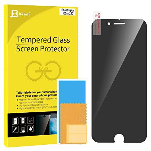 iPhone 6s Plus Screen Protector, JETech Premium Privacy Anti-Spy Tempered Glass Screen...