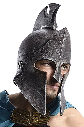 [Mememall Fashion 300 Rise of the Empire Spartan Warrior Themistocles Helmet Costume Accessory] (Spartan 300 Costumes)