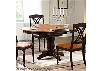 Attirant Round Table With Butterfly Leaf
