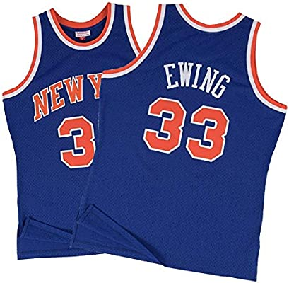 Camiseta NBA para Hombre -Patrick Ewing # 33 New York Knicks ...