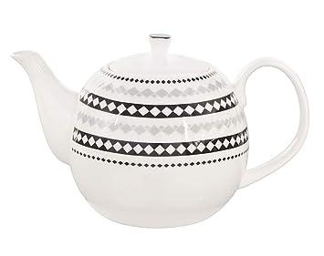 Kaffeekanne Teekanne 1,4 ltr Stövchen aus Keramik Teeservice Tee Kanne