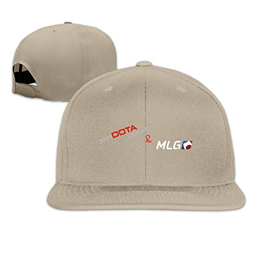 (Multiplayer Online Battle Arena Games Unisex Print Cap Natural)