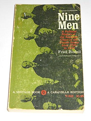 (Nine Men (A Vintage Book- A Caravelle Edition))