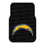 Chargers OFFICIAL National Football League, 25.5 x 17.5 Car Floor Mat Set (Pair of 2)