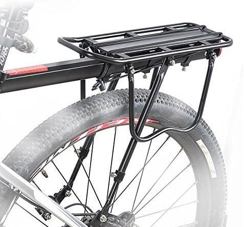 T_B035』 NinoLite 自転車 荷台 最大25Kg可能 後付け リア キャリア