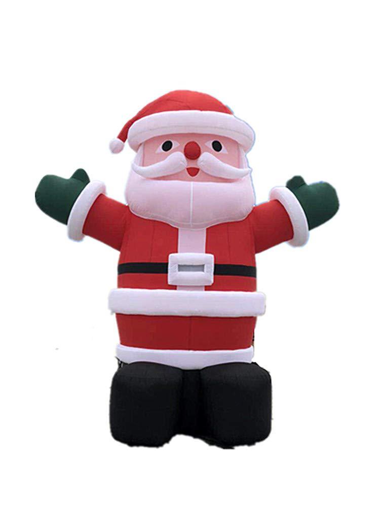BAOSHISHAN 26 Papá Noel hinchable soplador de vacaciones de ...