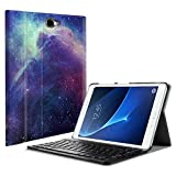 Fintie Samsung Galaxy Tab A 10.1 (NO S Pen Version) Keyboard Case, Slim Lightweight Stand Cover w/Magnetically Detachable Wireless Bluetooth Keyboard Compatible with Tab A 10.1 Inch, Galaxy