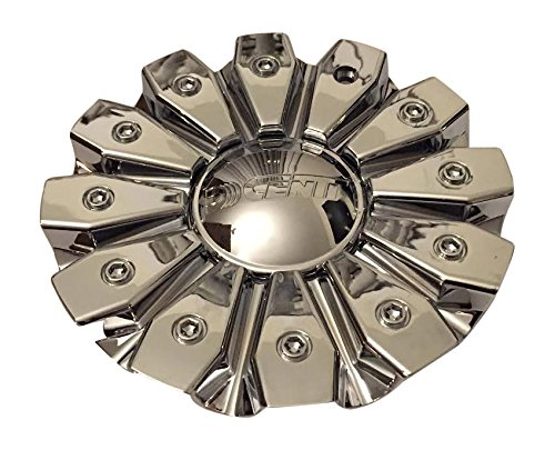 Dcenti Wheels CSDW8-1P CCDW1-2P SJ129-10 All Chrome Logo Center Cap