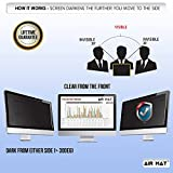 23.8 Inch Privacy Screen Filter for Widescreen Computer Monitor / LCD (16:9 Aspect Ratio). Best Anti Glare Protector Film for data confidentiality - compare to 3M (23.8W9) - CHECK DIMENSIONS CAREFULLY
