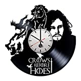 Cheap Game of Thrones Handmade Vinyl Record Wall Clock Fun gift Vintage Unique Home…