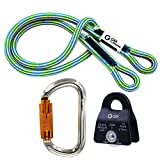 GM CLIMBING Hitch Slack Tending Pulley Kit for Double Rope...