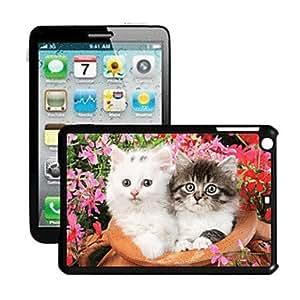 Cat Pattern 3D Effect Case for iPad Mini