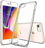 "ESR iPhone 7 Case, iPhone 8 Case, Crystal Clear Transparent Gel Case [Slim-Fit] [Anti-Scratch] [Shock Absorption] for 4.7"" Apple iPhone 7 (2016)/iPhone 8 (2017)"