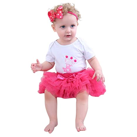 XMAS Hot Red Pettiskirt Skirt Tutu Red White Polka Dots Ruffle Tank Top Set 1-8Y