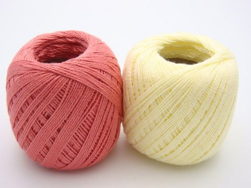 Lot 45 Balls Size 10 Crochet Cotton Threads Yarn Knitting. All Different Colors. by  Clea 125 (Image #6)