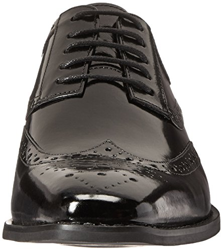 latest Stacy Adams Men's Tinsley Wingtip Lace-up Oxford Black sale browse outlet under $60 aX6BoV