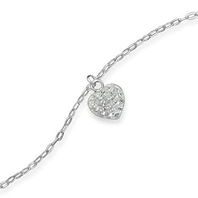 get chain com can amazon bead anklet in silver you link pin bracelets jewelry ankle more sterling