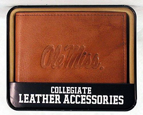 NCAA Mississippi Ole Miss Rebels Embossed Leather Billfold ()