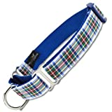 Plaid Martingale Collar, Dress Stewart Tartan
