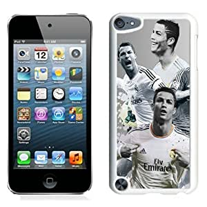 Great Quality iPod Touch 5 Case ,Beautiful And Unique Designed Case With Cristiano Ronaldo 1 White iPod Touch 5 Cover Phone Case