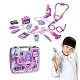 EchoAcc® Jeu d'imitation Medical Kit Jouet Médecins de Simulation Portable ou Infirmières Jeu de rôle Jouets Médecine de jeu Médecin Définit pour Enfants