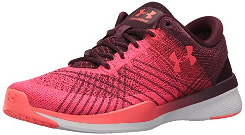 AW17 Threadbourne Marathon Red Women's Armour Push TR Raisin Red Training Under Shoes Red C4q10wCx5
