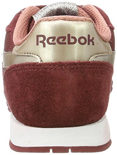 Reebok Damen CrossFit Speed TR 2.0 Sneaker Rot (Rugged Maroon/sleek Metallic/grey Sandy Rose/white)