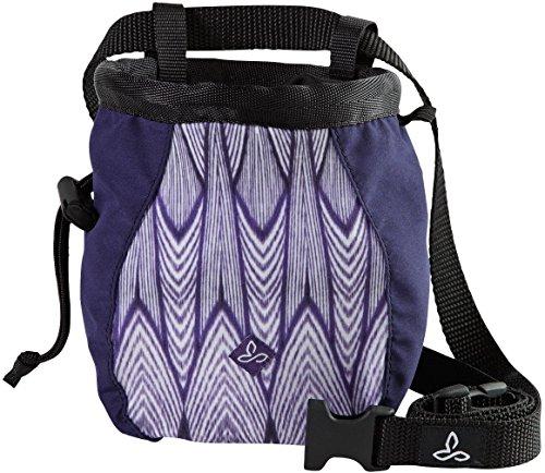prAna Women's Large Chalk Bag with Belt, Violet Feather, One Size - Prana Womens Chalk Bag