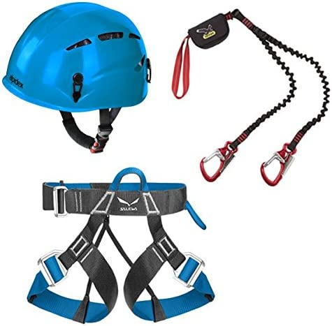Salewa Via ferrata Premium attac para montañismo + casco de ...