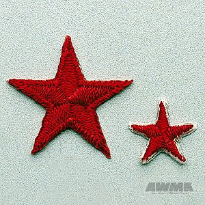 Red Achievement Star Patch 1