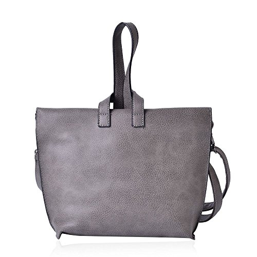 with Grey Bag Removable Strap 24x19 5x6 TJC Adjustable Cm Crossbody wPfqURv