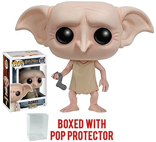 Funko Pop Movies: Harry Potter - Dobby Vinyl Figure (Bundled with Pop Box Protective Case) Ron Weasley Yule Ball