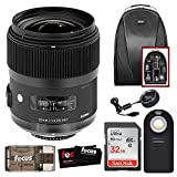 Sigma 35mm F1.4 ART DG HSM Lens for CANON DSLR Cameras + Sigma USB Dock + 32GB SD CARD PROMOTIONAL HOLIDAY BUNDLE