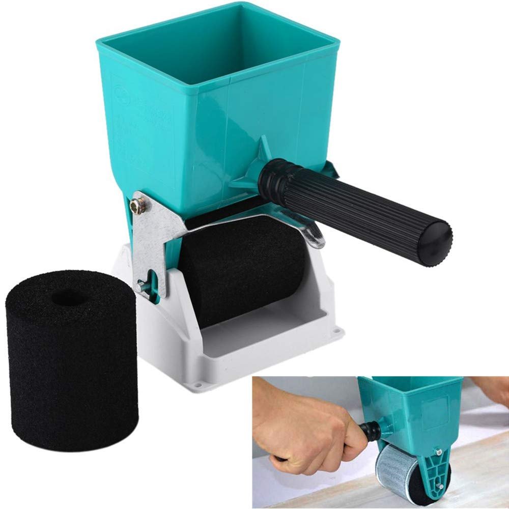 NOBGP 2 Pcs Adjustable Glue applicator, Portable Coated Glue Roller, Professional Manual Glue Applicator for Efficiently Work Wooden DIY Coating Spreading Adhesives,3''