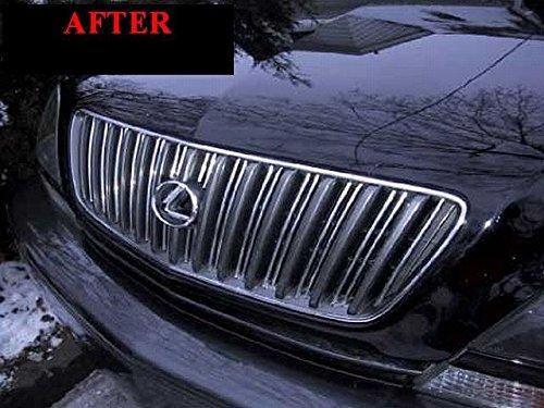 312 Motoring fits 1999-2003 Lexus RX300 Chrome Grille Grill KIT 2000 2001 2002 99 00 01 02 03 RX 300