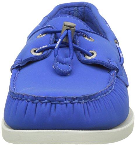 Sebago Docksides, Náuticos Para Hombre Azul (Blue Ariaprene)