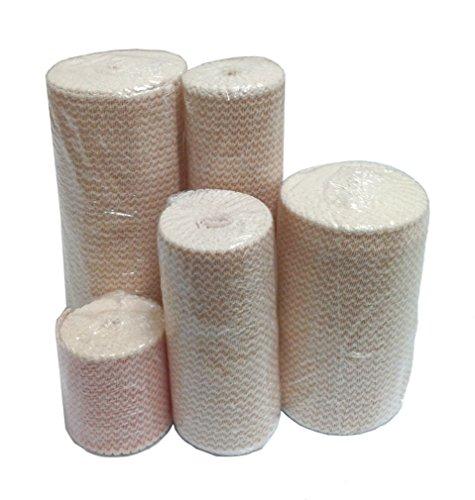 Premium Double Length Elastic Bandages w/Velcro 4
