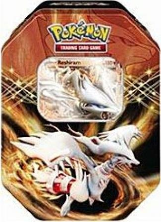 Pokemon Black White Card Game Spring 2012 EX Collectors Tin Reshiram