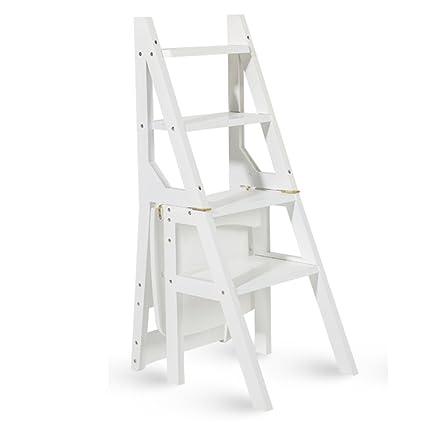 ERRU- Escaleras plegables Sillas plegables de doble uso del ...