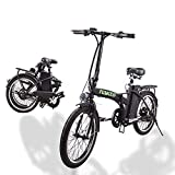 nakto Electric Bike City Electric Bikes for Adults 6 Speed Ebike with 36V10AH Removable Lithium Battery and 1 Year Warranty 20