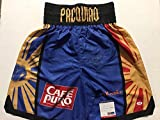 Autographed/Signed Manny Pacquiao Blue Boxing Trunks/Shorts PSA/DNA COA Auto