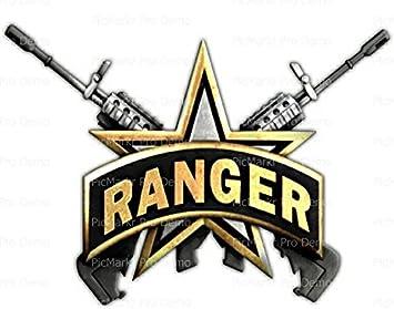 1 4 sheet army rangers logo birthday edible cake cupcake party rh amazon com us army rangers logo army ranger logo images