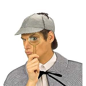 Sombrero de Sherlock Holmes gorro detective