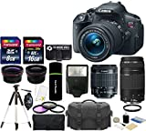 Canon EOS Rebel T5i Digital SLR Camera with EF-S 18-55mm f/3.5-5.6 IS STM Lens AL'S VARIETY PREMIUM KIT + High Speed 16GB Memory Card + High Speed Reader + Deluxe Case + 5pc Bundle
