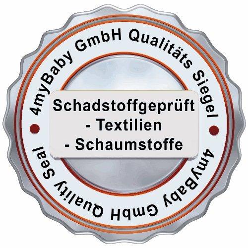 Qualit/ät nach /Ökotex 100 Standard und T/ÜV Gesteppte und Weiche Kindermatratze aus Frottee mit Trittkante Best For Kids Kinderbett-Matratze Kesja 60x120x10 cm