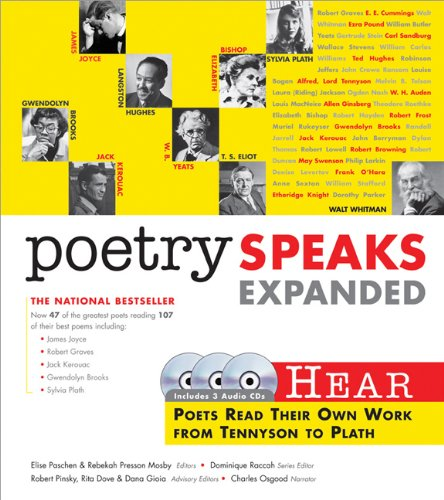 Poetry Speaks Expanded: Hear Poets Read Their Own Work From Tennyson to Plath (Book w/ Audio CD)