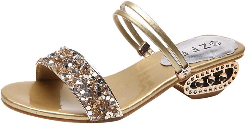Fashion Sling Sequins Flip Flop