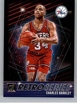 bf428a40f673 2018-19 Donruss Retro Series Basketball Insert  16 Charles Barkley  Philadelphia 76ers Official NBA